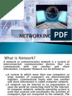 NETWORKING Presentation