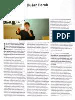 Dusan Barok. Interview. Neural 44. 2013