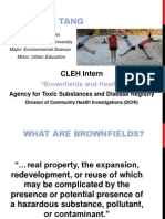 Brownfields and Health