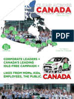 CLEAR ACROSS CANADA - IDLE-FREE Drive