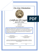 Juror on Line Orientation 2013
