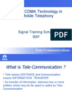 GSM & CDMA Technology in Mobile Telephony