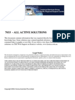 7033 All Active Solutions
