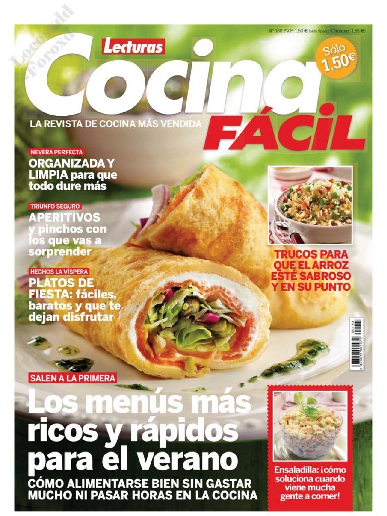 Cocina Lecturas | Cocina Facil Lecturas