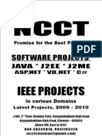1 - SW - Java Project Titles, IEEE 2009, Etc., Year 2009 - 2010 - 1