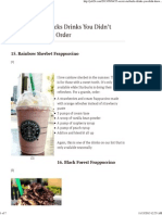 35 secret starbucks drinks you didnt know you could order pt3