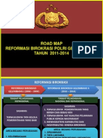 Roadmap Reformasi Birokrasi Polri 3