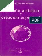 Creacion Artistica y Creacion Espiritual