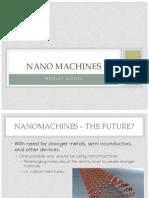Nanomachine Presentations