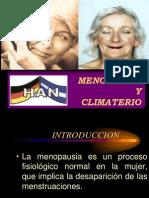 Menopausia y Climaterio