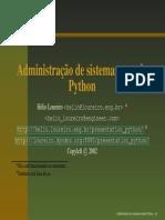 Administrando Sistemas Com Python