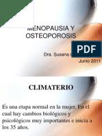 Menopausia Osteoporosis 2011
