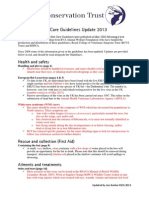 Bat Care Guidelines Update 2013 May 2013