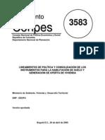 Conpes 3583 - 2009