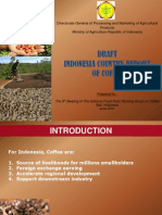 Draft Indonesia Coffee (Country Report). Laporan Penyusunan.10 April