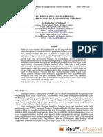 Analisis Strategi Mitigasi Risiko Pada Supply Chain PT. PAL INDONESIA PERSERO