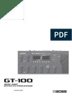 GT 100 Parameters