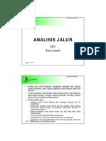 ANALISIS JALUR