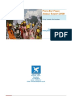 Press for Peace Annual Report 2008