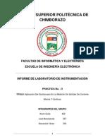 Informe de laboratorio de Instrumentación Practica 5
