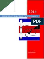 Elecciones 2014 por un voto inteligente