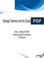 Damage Tolerance and the Composite Airframe
