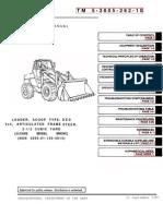 TM 5-3805-262-10 CASE MW24C SCOOP LOADER