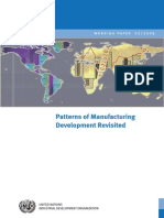 Patterns of Manufacturing Development Revisited