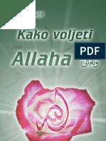 Kako voljeti Allaha - dr. Ahmed Cagil