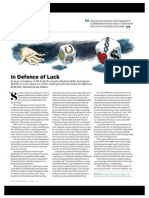 In Defence of Luck