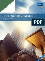 Delhi - NCR Office Market Snapshot 2013 Report