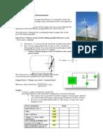 Wind Turbine Efficiency Demonstration