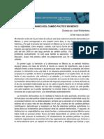 José Woldenberg - La mecanica del cambio (conferencia).pdf