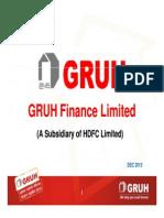GRUH Presentation