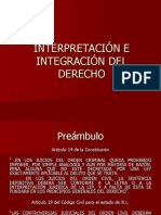 26. Interpretación e Integración