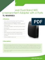 TL-WA890EA V1 Datasheet