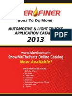 2013 LF Auto Application Catalog