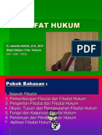 FILSAFAT HUKUM .Ppt; Power Point