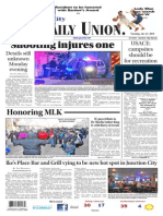 The Daily Union. January 21, 2014