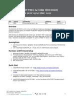 Microchip-Wi-fi g Dv102412 Demo Board Quick Start Guide