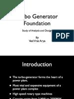 Design of Turbo Generator Foundation