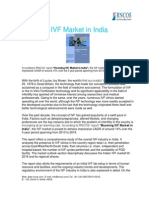 Booming IVF Market in India