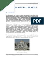 El Palacio de Bellas Artes.