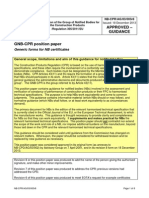 NB-CPR AG 03 003r8 - Generic Forms for GNB-CPR Certificates