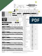 DnD Character Sheet Half-Orc Barb