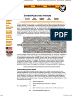 Williams Form Engineering Corp. - Cement Grout Bonded Conctete Anchors
