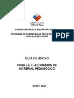 Guia de Apoyo Elaboracion Material Pedagogico