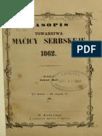 Casopis Towarstva Macicy Serbskeje 1862 - XV Letnik - III. Zwjazk 10