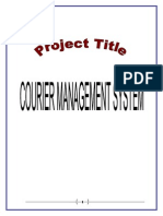 1Online Courier Management