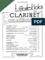 La Sonnambula for Clarinet and Piano
